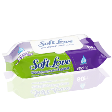 ISLAK HAVLU SOFT LOVE 60 LI 1*24